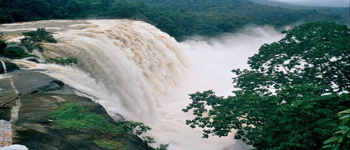 Athirapilly Waterfalls and Vazhachal