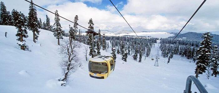 Gulmarg Gondola Jammu, and Kashmir