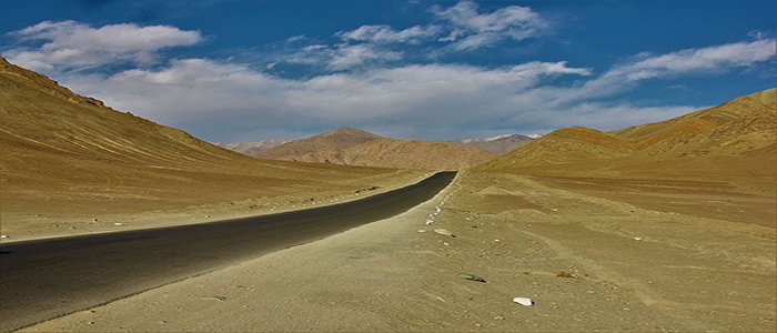 Magnetic Hill: Car Slipping Uphill in Leh